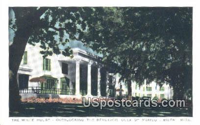 White House - Biloxi, Mississippi MS Postcard