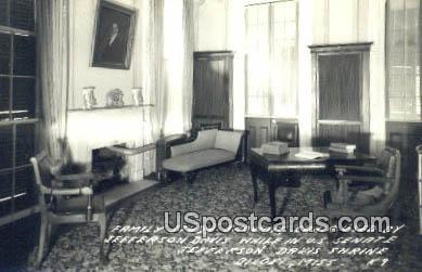 Jefferson Davis, Jefferson Davis Shrine - Biloxi, Mississippi MS Postcard