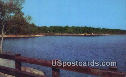 Percy Quinn Lake, Percy Wuinn State Park - McComb, Mississippi MS Postcard