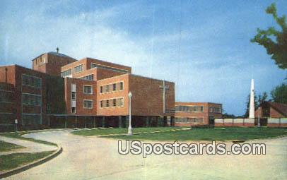 Mercy Hospital - Vicksburg, Mississippi MS Postcard