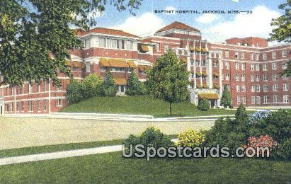 Baptist Hospital - Jackson, Mississippi MS Postcard