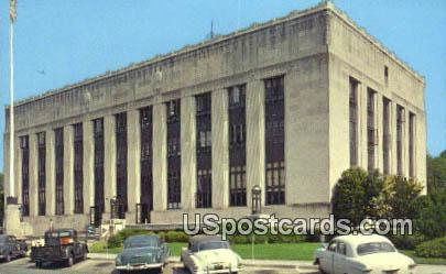 United States Post Office - Meridian, Mississippi MS Postcard