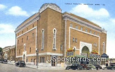 Temple Theatre - Meridian, Mississippi MS Postcard