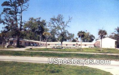 Flamingo Hotel Court - Biloxi, Mississippi MS Postcard