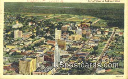 Jackson Mississippi, Postcard       ;       Jackson MS,