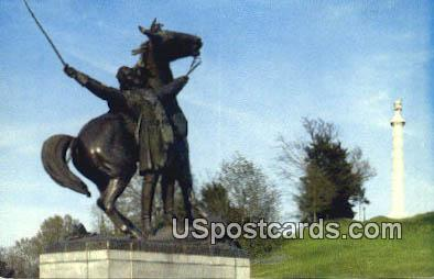 Vicksburg National Military Park - Mississippi MS Postcard