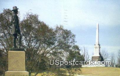 Mississippi Monument - Vicksburg National Military Park Postcard