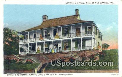 Connelly's Tavern, Ellicotts Hill - Natchez, Mississippi MS Postcard