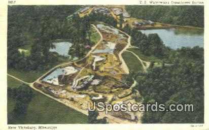 US Waterways Experiment Station - Vicksburg, Mississippi MS Postcard