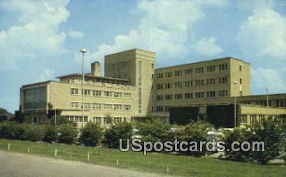 Greenwood Leeflore Hospital - Mississippi MS Postcard