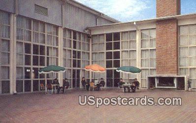 Terrace at Vadenberg Hall - Keesler Air Force Base, Mississippi MS Postcard