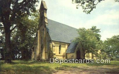 Episcopal Chapel - Mannsdale, Mississippi MS Postcard