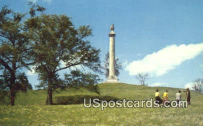 Louisiana Memorial l& Great Redoubt - Vicksburg National Military Park, Mississippi MS Postcard