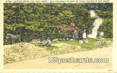 Hot Cakes - Misc, Mississippi MS Postcard
