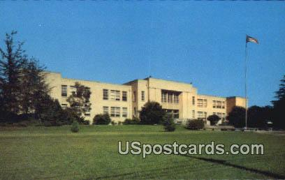 Brookhaven High School - Mississippi MS Postcard