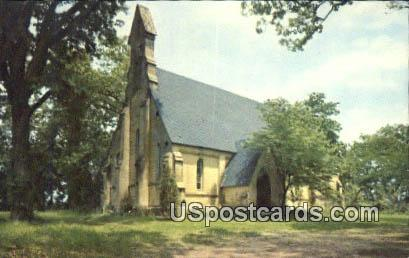 Episcopal Chapel of the Cross - Mannsdale, Mississippi MS Postcard
