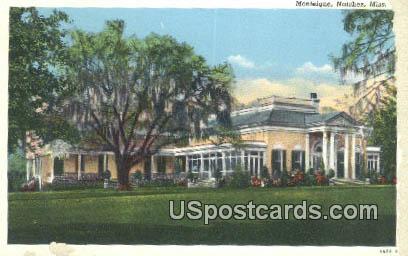 Monteigne - Natchez, Mississippi MS Postcard