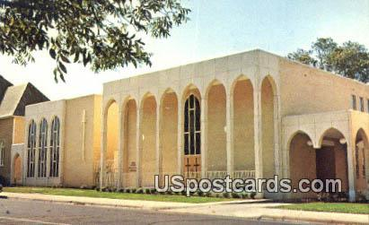 Educational Building, First Methodist Church - Yazoo City, Mississippi MS Postcard