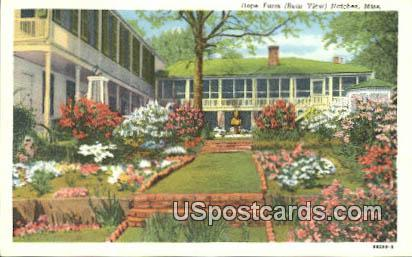 Hope Farm - Natchez, Mississippi MS Postcard