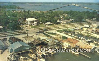 Back Bay Biloxi - Mississippi MS Postcard