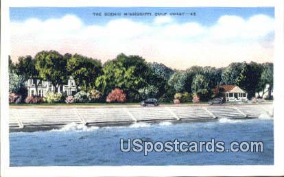 Mississippi Gulf Coast Mississippi, Postcard       ;       Mississippi Gulf Coast MS, - Mississippi Gulf Coast Postcards