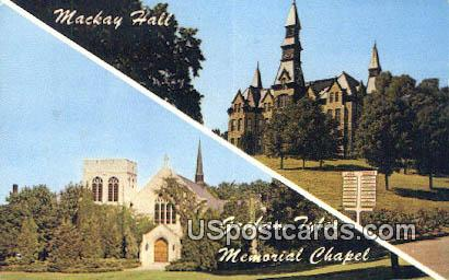 Park College - Parkville, Mississippi MS Postcard