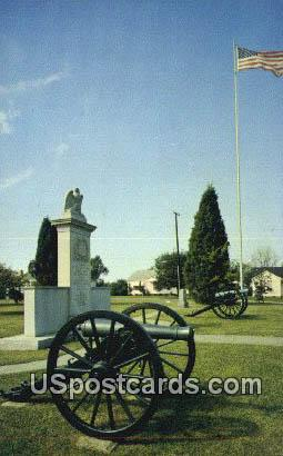 Tupelo National Battlefield - Mississippi MS Postcard