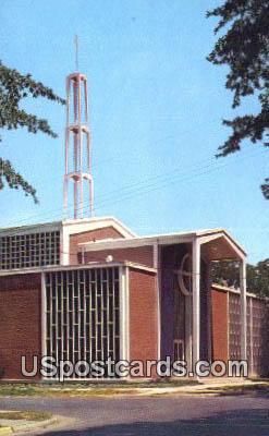 First Methodist Church - Corinth, Mississippi MS Postcard
