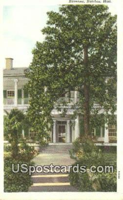Ravenna - Natchez, Mississippi MS Postcard