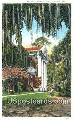 Auburn Duncan Park - Natchez, Mississippi MS Postcard