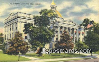 Old Capitol - Jackson, Mississippi MS Postcard