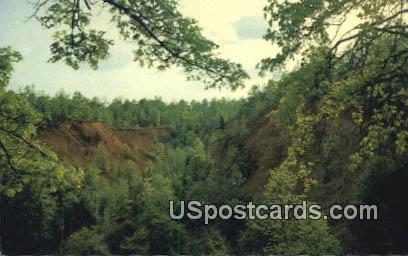 Natchez Trace Parkway - Napier Mine, Mississippi MS Postcard