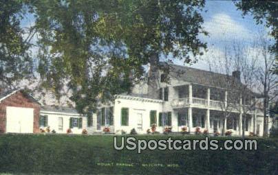 Mount Repose - Natchez, Mississippi MS Postcard