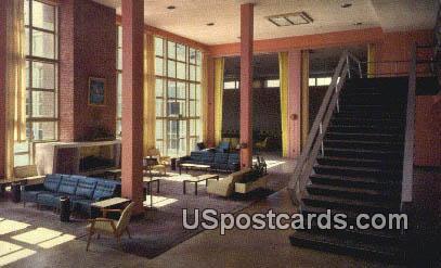 Lounge, Vandenberg Hall - Keesler Air Force Base, Mississippi MS Postcard
