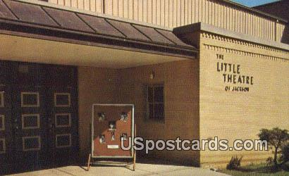 Little Theatre of Jackson - Mississippi MS Postcard