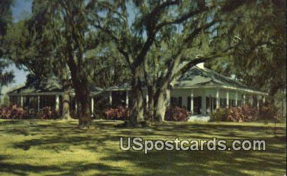 Old Palace Plantation - Gautier, Mississippi MS Postcard