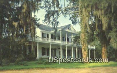 Linden - Natchez, Mississippi MS Postcard