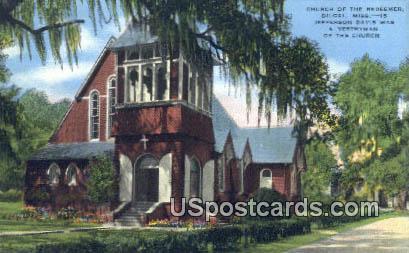 Church of the Redeemer - Biloxi, Mississippi MS Postcard