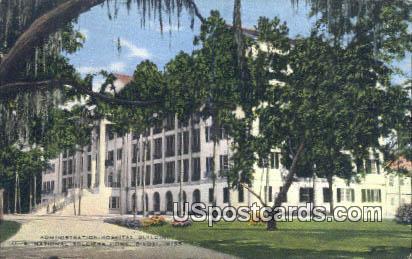 Hospital, US National Soldiers Home - Biloxi, Mississippi MS Postcard