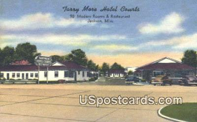 Terry More Hotel Courts - Jackson, Mississippi MS Postcard