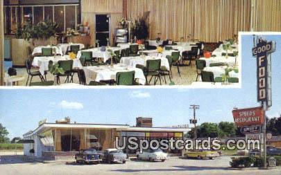 Speed's Restaurant - Hattiesburg, Mississippi MS Postcard