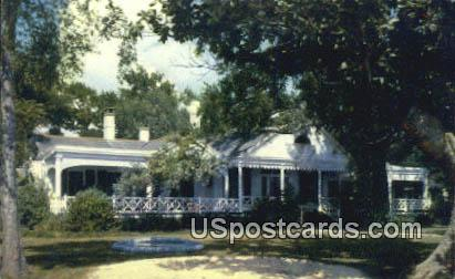 Home of Dorothy Dix - Pass Christian, Mississippi MS Postcard