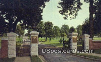 Corinth National Cemetery - Mississippi MS Postcard