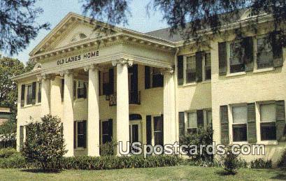 Old ladies Home - Jackson, Mississippi MS Postcard