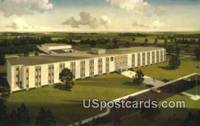 National Aeronautics & Space Administration - Hancock County, Mississippi MS Postcard