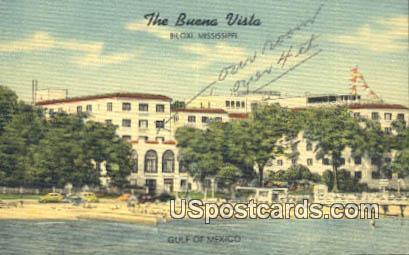 Buena Vista - Biloxi, Mississippi MS Postcard