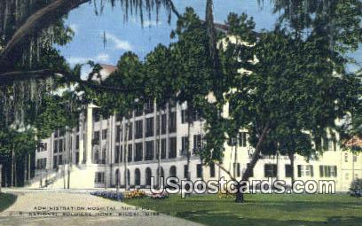 Admin Hospital, US National Soldiers Home - Biloxi, Mississippi MS Postcard