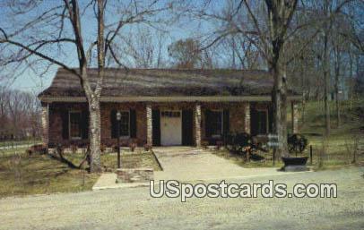 Visitors Center, Grand Gulf State Park - Port Gibson, Mississippi MS Postcard