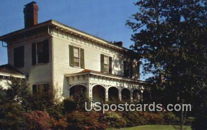 Amzi Love Home - Columbus, Mississippi MS Postcard