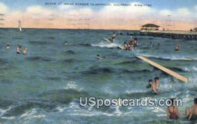 Inner Harbor Clubhouse - Gulfport, Mississippi MS Postcard